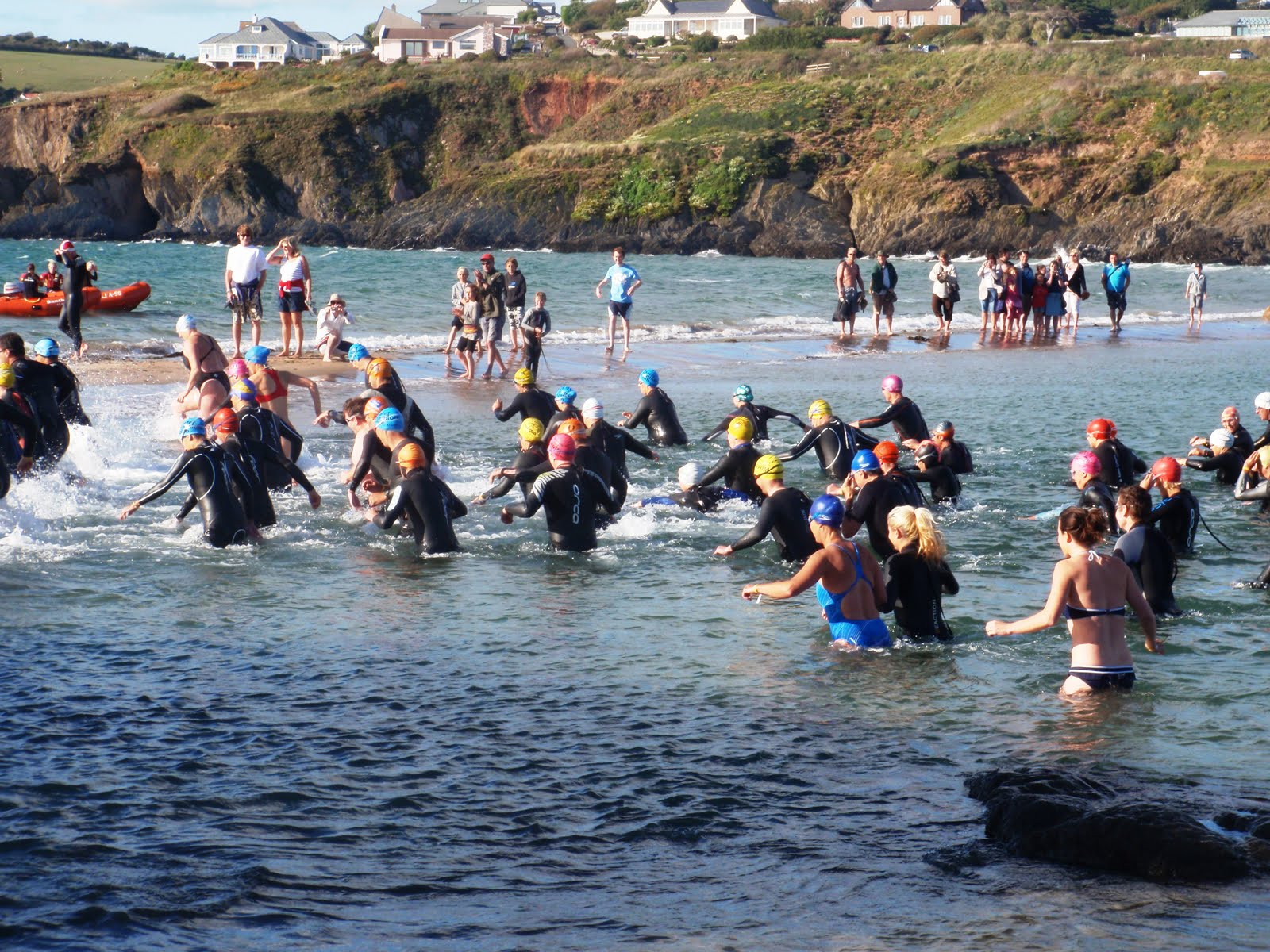 Burgh Island Swim September