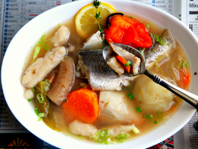 trinidad fish broth fish brof