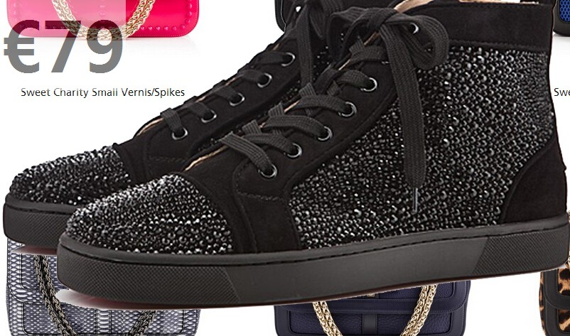 louboutin strass homme pas cher