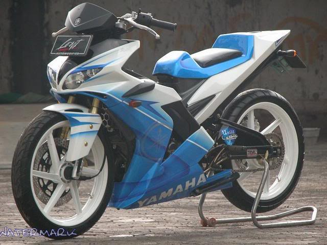 Modif Warna Jupiter Mx 2013