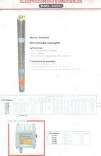 bomba de agua francollo, parametros de rendimiento