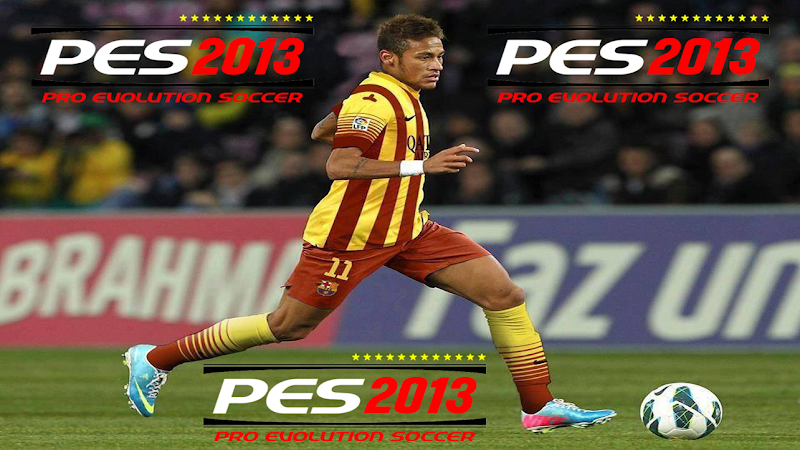 Neymar Barcelona Start Screen #1 - PES 2013