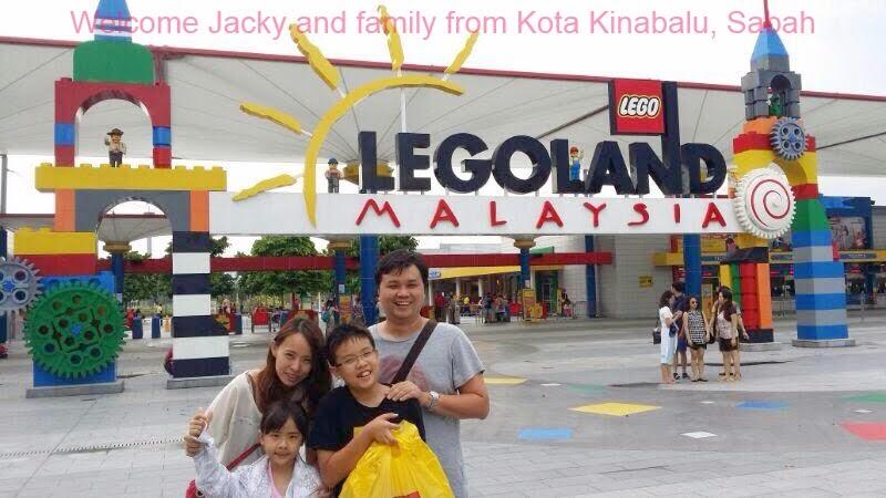 Saya pergi Legoland !