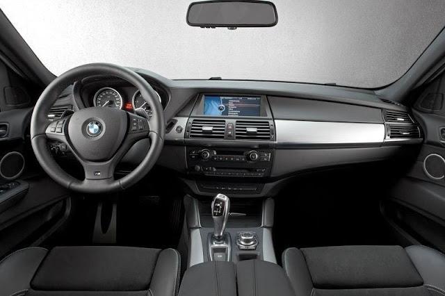 2012 BMW X6 M50d Front Interior