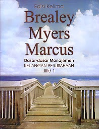 toko buku rahma: buku DASAR-DASAR MANAJEMEN KEUANGAN PERUSAHAAN JILID 1 EDISI KELIMA, pengarang brealey myers marcus