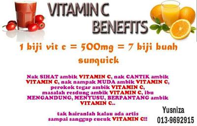 Manfaat Vitamin C Shaklee
