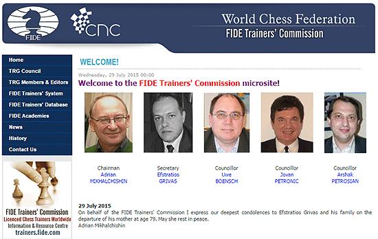 Au delà de la page principale du site dédié aux entraîneurs, présentant la standardisation de l'enseignement des échecs, se cache un trésor secrètement enfoui. Suivez-nous !