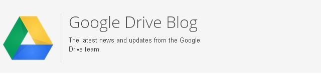 Blog de Google Drive