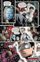 White Lantern Kyle Rayner tells the guardians to help Relic in Lights Out part three.