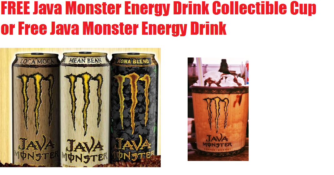 Free monster energy coupons