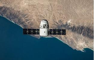 Dragon de SpaceX en órbita