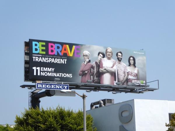 Be Brave Transparent 2015 Emmy billboard