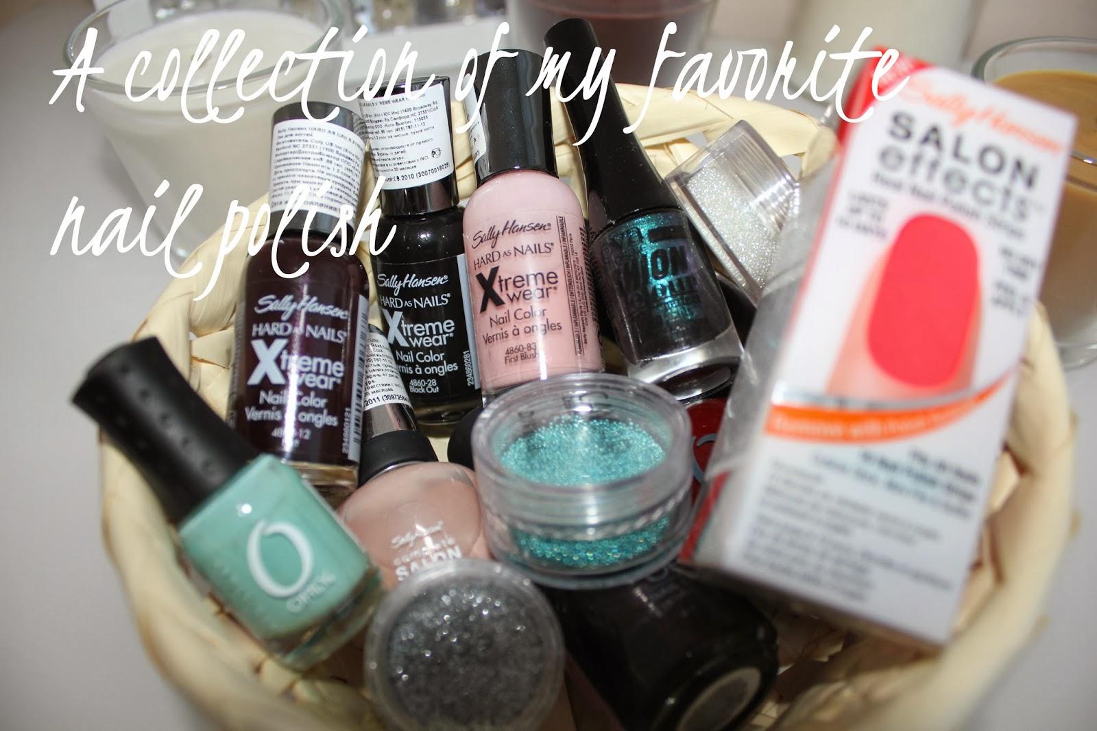 A collection of my favorite nail polish – Fashionlovin