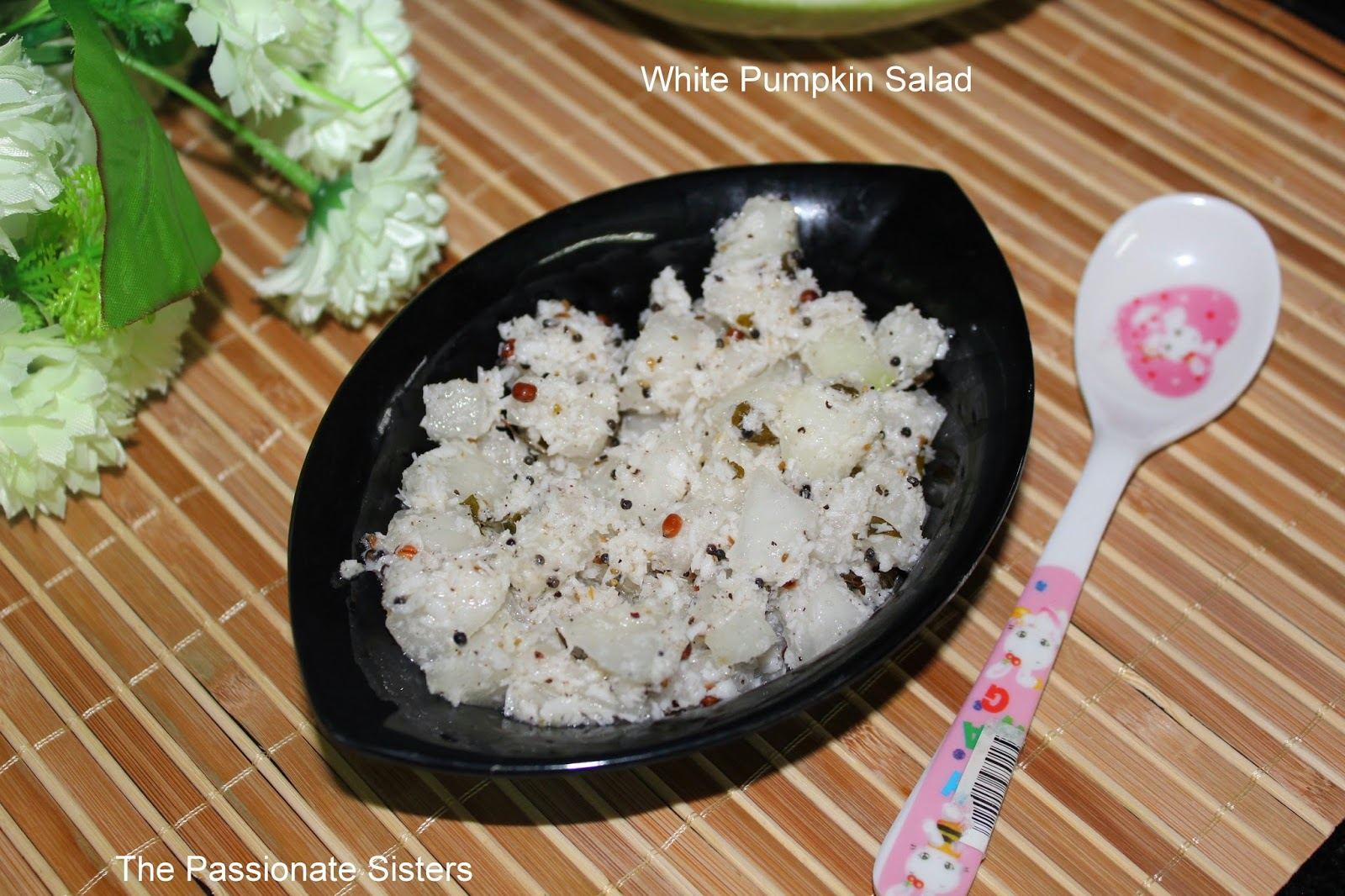 White Pumpkin salad