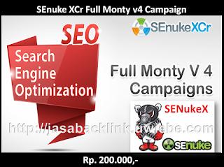 SEnuke XCr Full Monty v4 Campaign