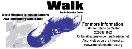 , 1st & Randolph Pl NW: Walk-A-Thon Rally – Saturday, 04-28-2012