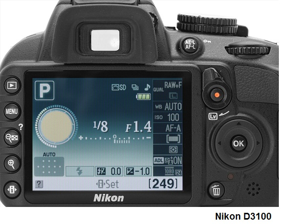 Nikon D3100 Features Specs And Review Test And Review