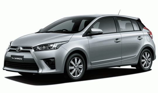 Toyota All New Yaris Silver Metallic
