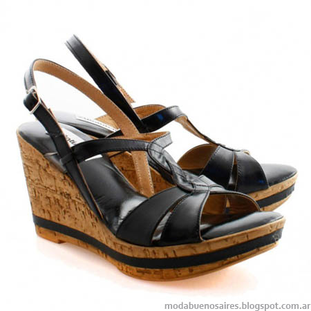 Sandalias verano 2014 moda mujer.