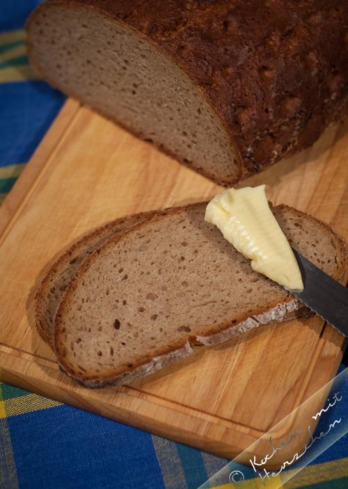 Brotbacken: Roggen-Dinkelstippe