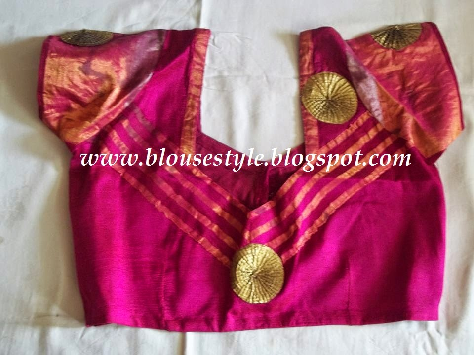 SOUTH INDIAN BLOUSE NECK