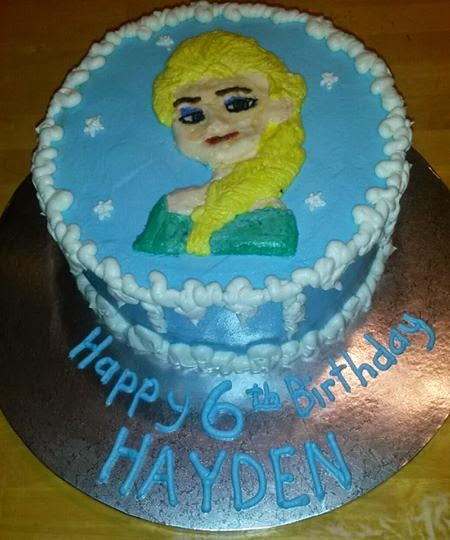Adam s Best Cake Decorating: Elsa Bday cake