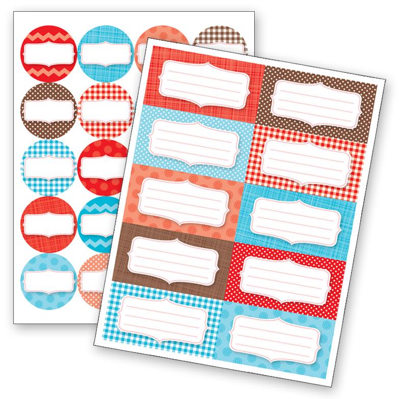 Four Corners Graphic Design: Printable Canning Jar Labels