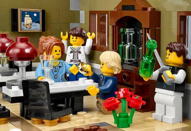 Lego- Restaurante con clientes