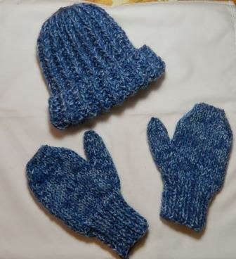 Knitting Pattern For Snowman Mittens : Knitting and Sewing My Way Through Life: Knit Mittens Inspired by THE MITTEN ...