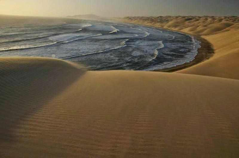 Where the Namib Desert meets the Sea