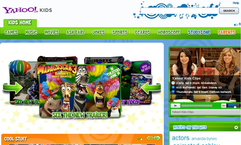 Yahoo s search engine for kids known as yahoo kids is more exciting