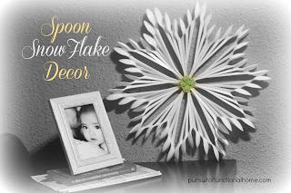 Spoon Snowflake Decor