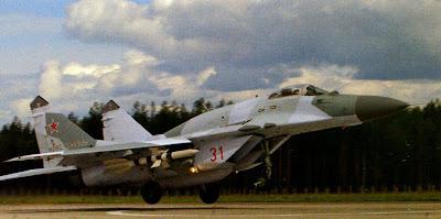 Взлет МиГ-29 СМТ
