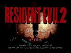 Resident Evil 2 Cover