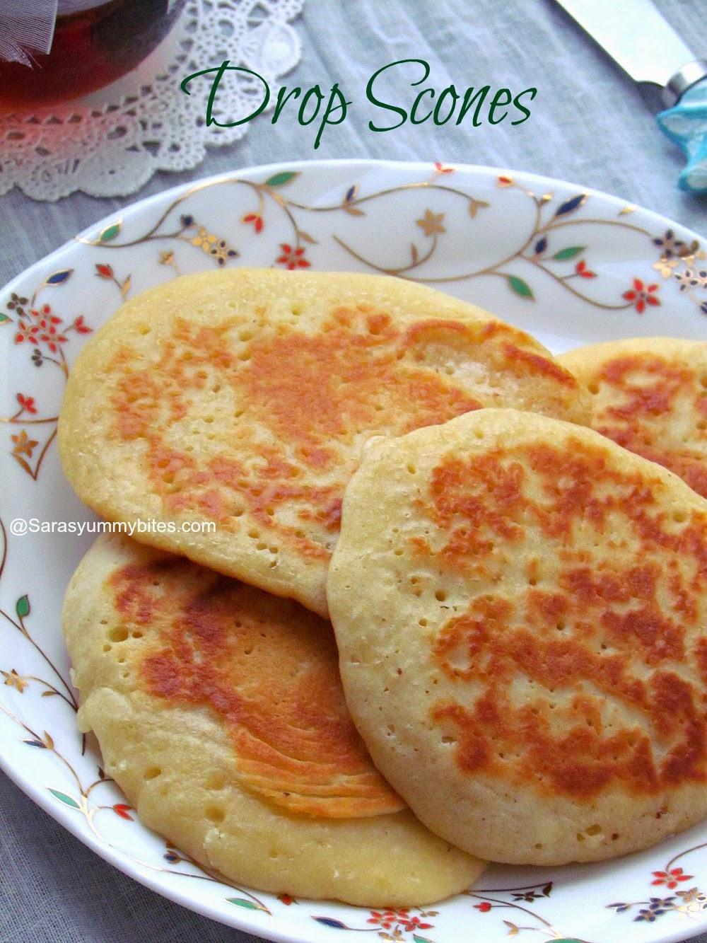 the breakfast bible's drop scones / drop scones