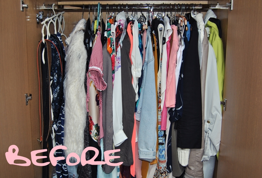how to sort out your wardrobe 3