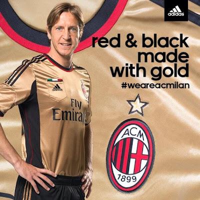 Les nouveaux maillots AC Milan 2013-2014