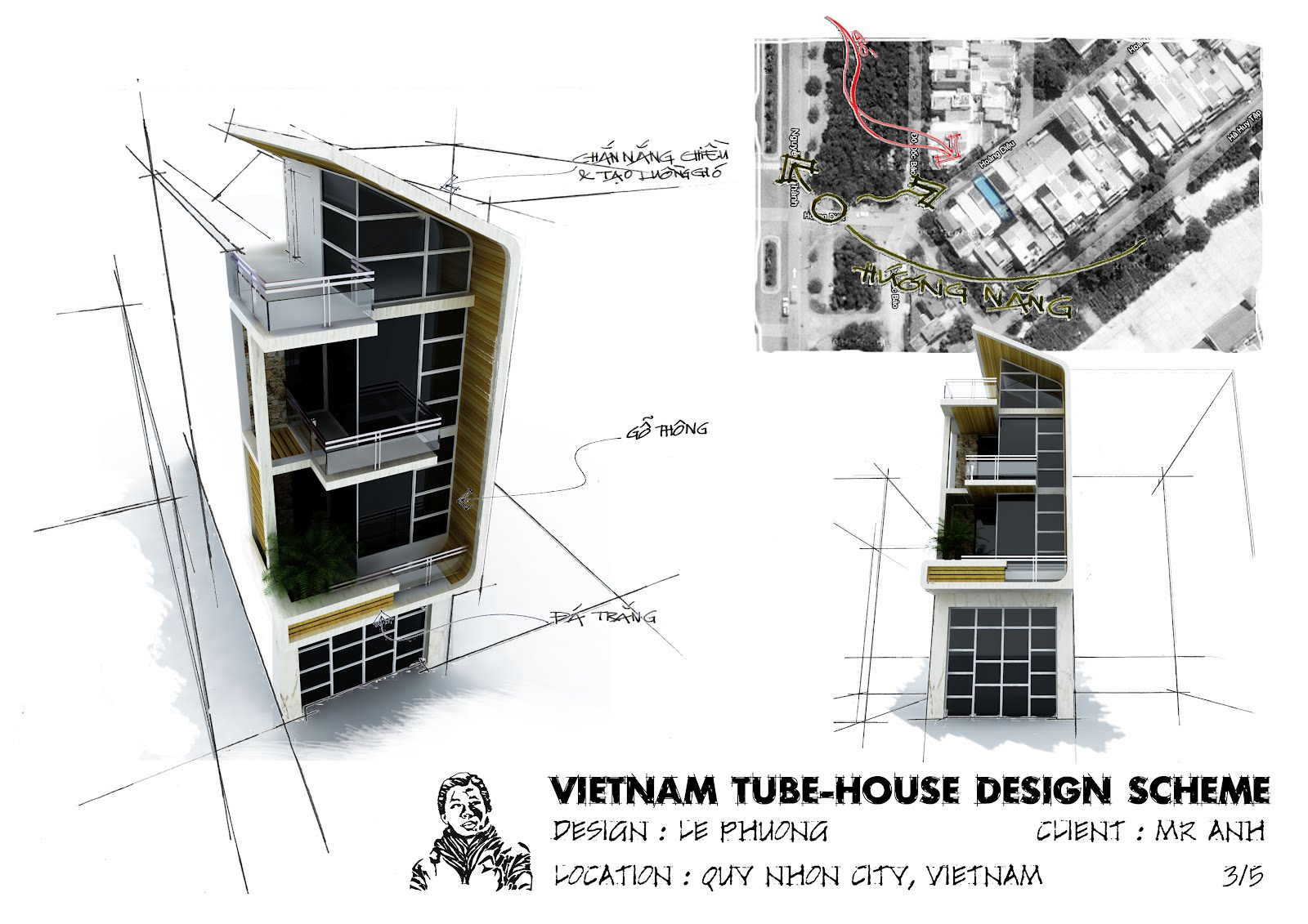 Le Phuong Vietnam Tube House Nh Ng