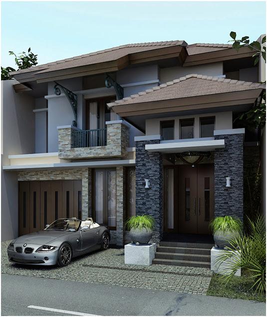 Model Rumah Minimalis lantai 2
