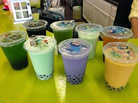 Flavors of Boba Tea