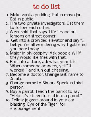All The Funny Ones Things To Do When Bored