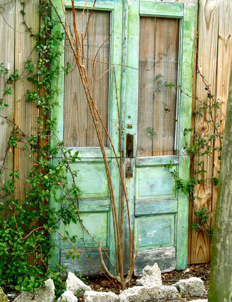 Dishfunctional designs the upcycled garden volume 1 for Garden door designs