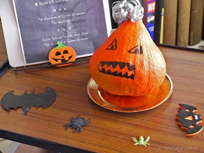 Idées pour un menu d'Halloween