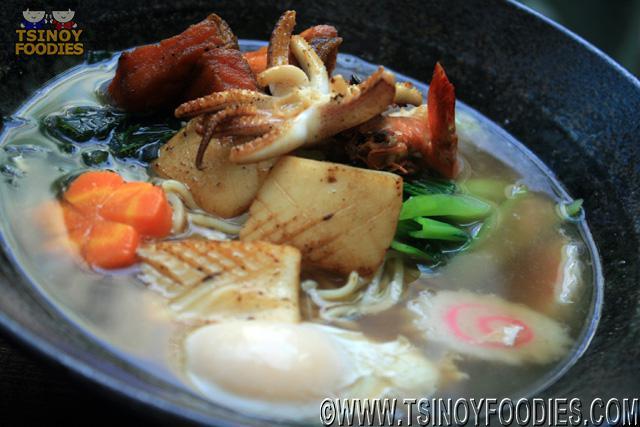 mixed seafood teppanyaki
