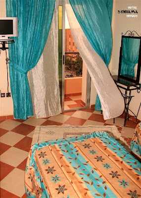 Hotel Benhama Erfoud   Site web design / Photographie Marco Prelousqui