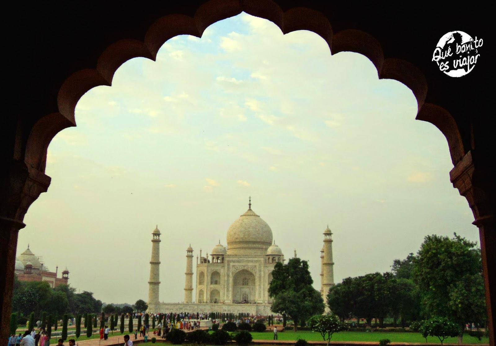 Taj Mahal , el monumento más bonito que jamás he visto