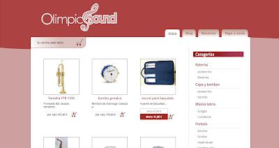 Tienda de música Olimpic Sound en el directorio musical directoriopax