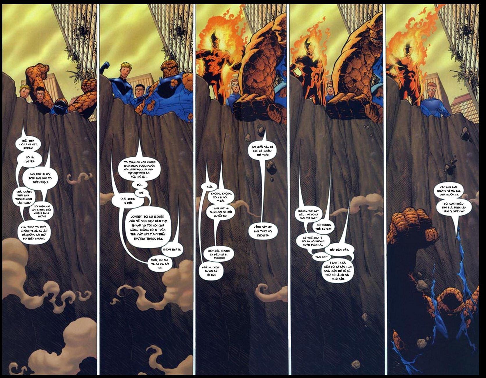 Ultimate Fantastic Four chap 5 - Trang 15