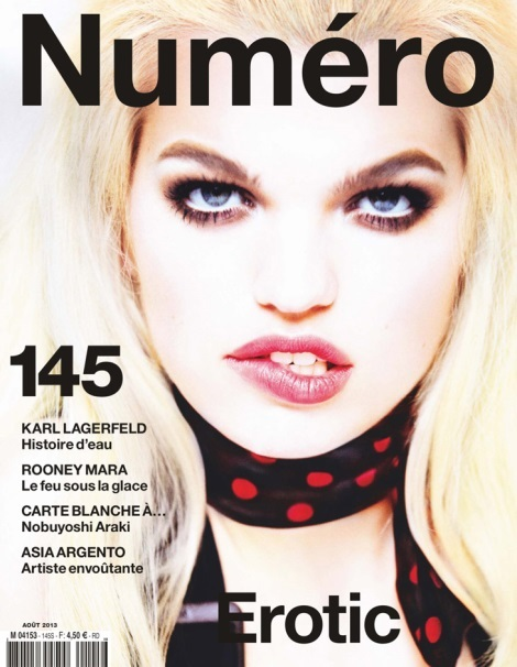 Daphne Groeneveld on Numero August 2013 Cover