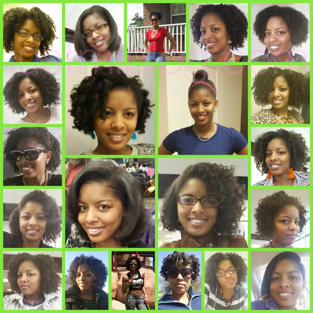 natural hairstyles for January through July